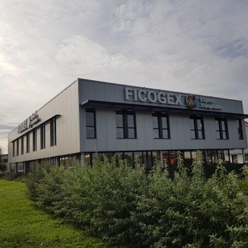 Ficogex, enseigne extérieure